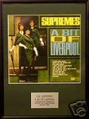 SUPREMES  - A Bit Of Liverpool  - Framed LP Cover